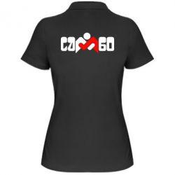 Женская футболка поло Самбо - FatLine
