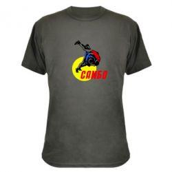 Камуфляжная футболка Sambo - FatLine