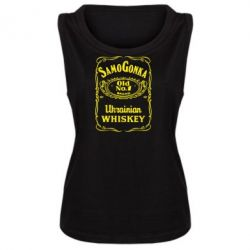 Женская майка SamoGonka (Jack Daniel's) - FatLine
