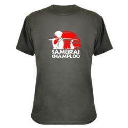 Камуфляжная футболка Samurai Champloo - FatLine
