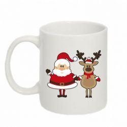 ������ Santa Claus and reindeer - FatLine