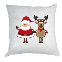 ������� Santa Claus and reindeer - FatLine