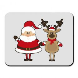 ������ ��� ���� Santa Claus and reindeer - FatLine