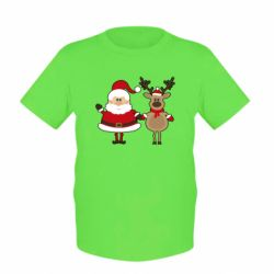 ������� �������� Santa Claus and reindeer - FatLine