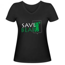 ������� �������� � V-�������� ������� Save Bears - FatLine