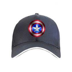 кепка Щит Капитана Америка - FatLine