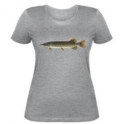 Женская футболка Щука - FatLine