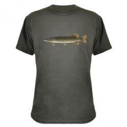Камуфляжная футболка Щука - FatLine