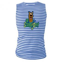 Майка-тельняшка Scooby Doo! - FatLine