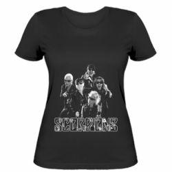 Женская футболка Scorpions 2016