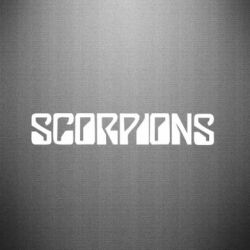 Наклейка Scorpions - FatLine
