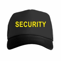 Кепка-тракер Security
