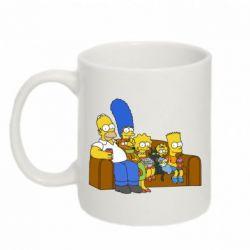 Кружка 320ml Семейство Симпсонов