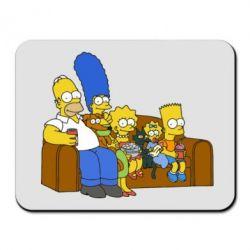 Коврик для мыши Семейство Симпсонов - FatLine