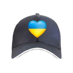 кепка Серце патріота - FatLine