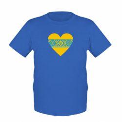 Детская футболка Серце України - FatLine