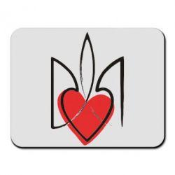 Коврик для мыши Серце з гербом - FatLine