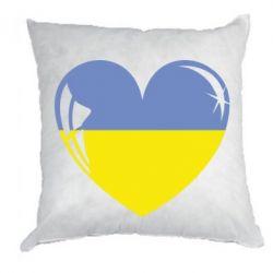 Подушка Сердце України - FatLine