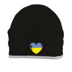Шапка Сердце України - FatLine