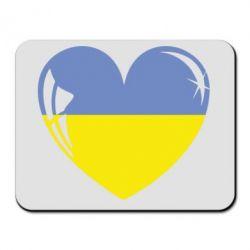 Коврик для мыши Сердце України - FatLine