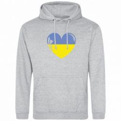 Толстовка Сердце України - FatLine