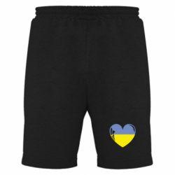 Мужские шорты Сердце України - FatLine