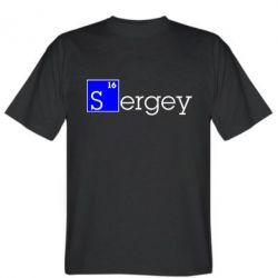 Мужская футболка Sergey - FatLine
