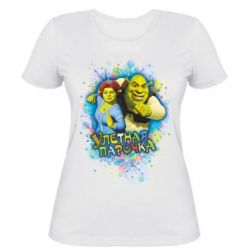 Женская футболка Ш&Ф Улетная парочка