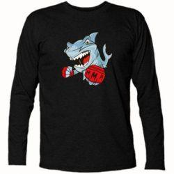 Футболка с длинным рукавом Shark MMA - FatLine