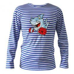 Тельняшка с длинным рукавом Shark MMA - FatLine