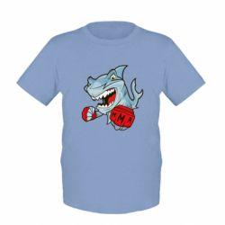 Детская футболка Shark MMA - FatLine