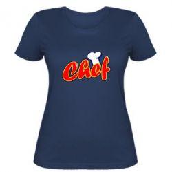 Женская футболка Шеф-повар - FatLine