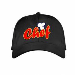 Детская кепка Шеф-повар - FatLine