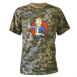 Камуфляжная футболка Shelter
