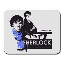 Коврик для мыши Sherlock (Шерлок Холмс) - FatLine