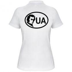 Женская футболка поло Shevchenko UA - FatLine