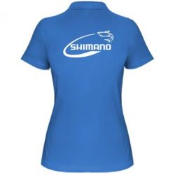Женская футболка поло Shimano - FatLine