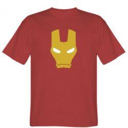 Мужская футболка Шлем Железного Человека - FatLine