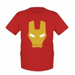 Детская футболка Шлем Железного Человека - FatLine