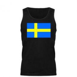 Мужская майка Швеция - FatLine