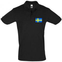 Футболка Поло Швеция - FatLine