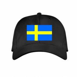 Детская кепка Швеция - FatLine