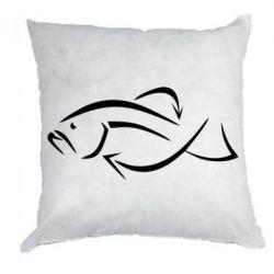Подушка Силуэт рыбы - FatLine