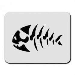 Килимок для миші скелет рибки - FatLine
