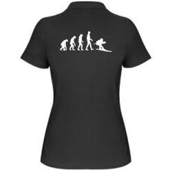 Женская футболка поло Ski evolution - FatLine