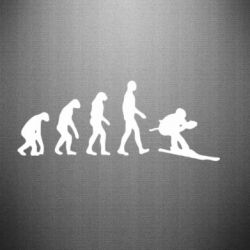 Наклейка Ski evolution