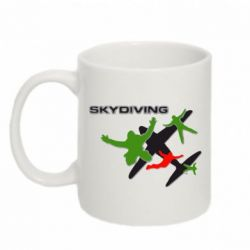 Кружка 320ml Skidiving logo - FatLine