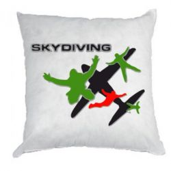 Подушка Skidiving logo - FatLine