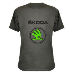 Камуфляжная футболка Skoda Bird - FatLine