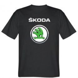 Футболка Skoda Logo 3D